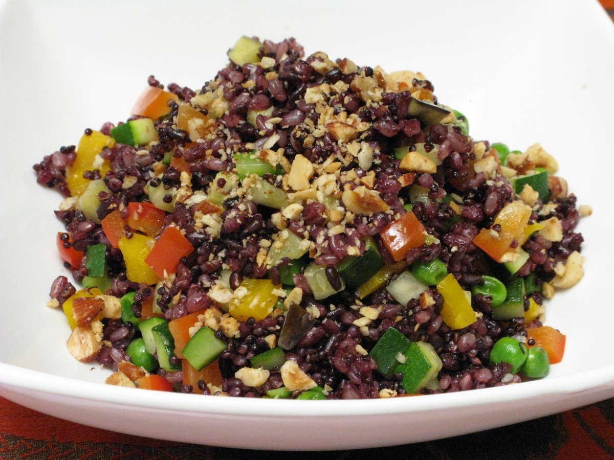 how to cook black quinoa in a rice cooker